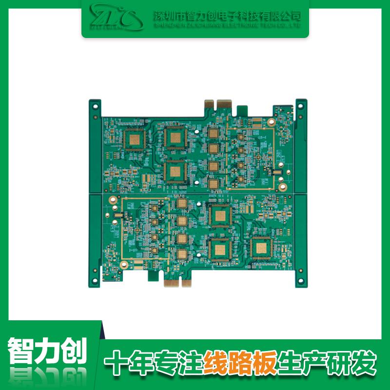 四层电脑周边 PCB 卡板 ( 表面镀硬金 ).png